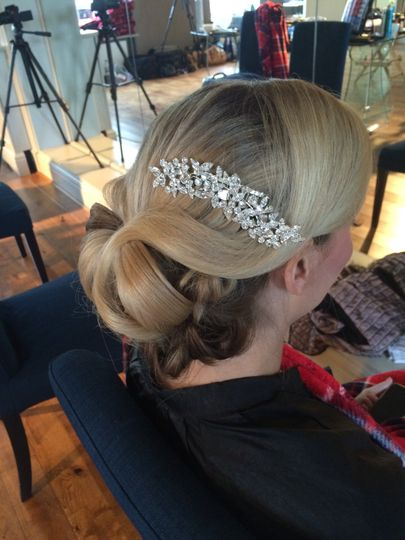 Glamorous Vintage Bride