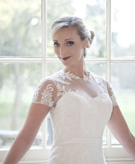 Bride with Hair UP