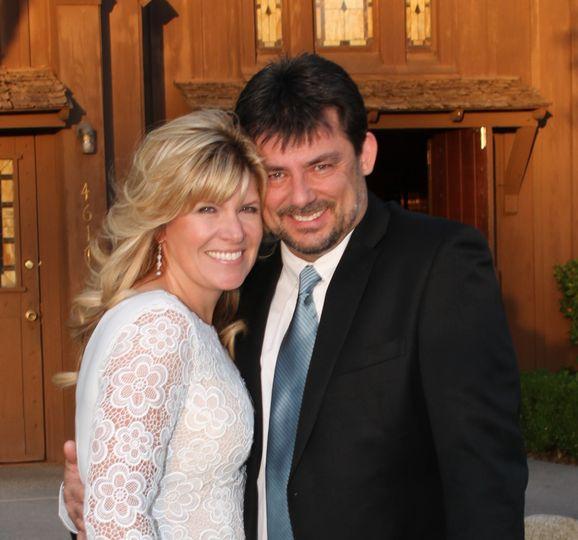 Cindi and her husband Matt
