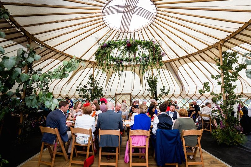 Wedding Reception Yurt