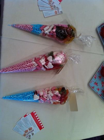 Candy Cone Favours