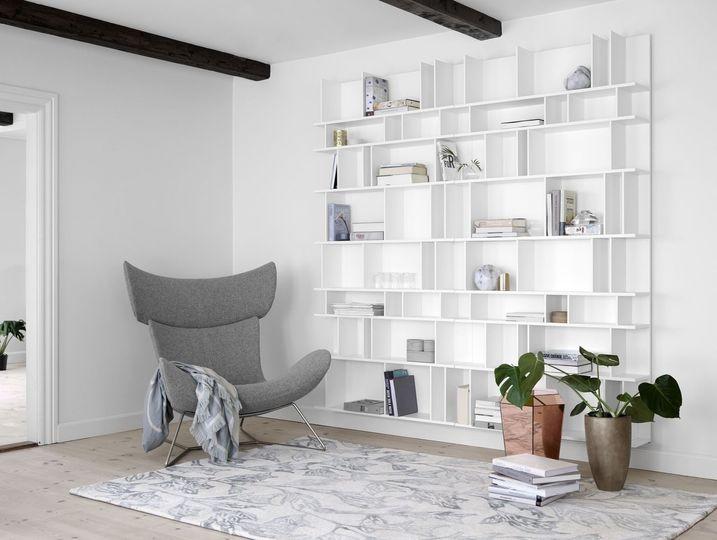 Imola Chair and Como Wall Unit