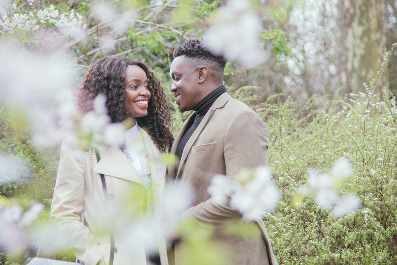 Engagement in Regent's Park