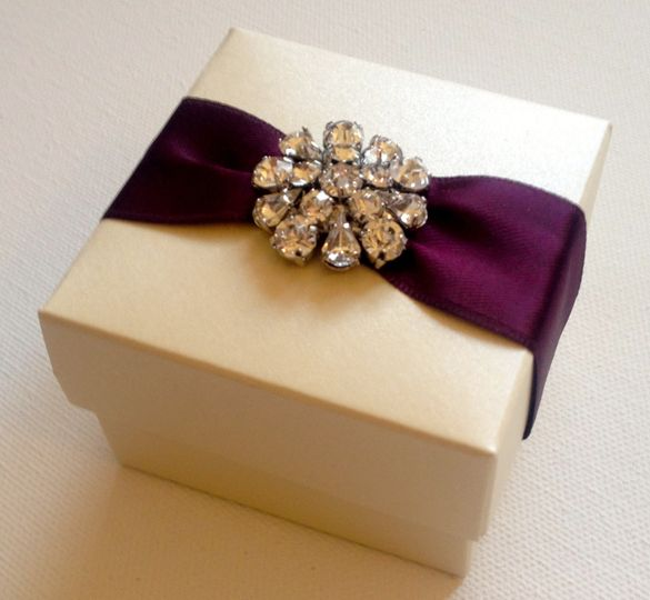 Cordinating favour box