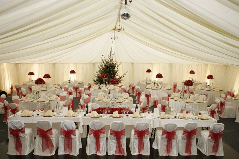 Beautiful Christmas Themed Wed