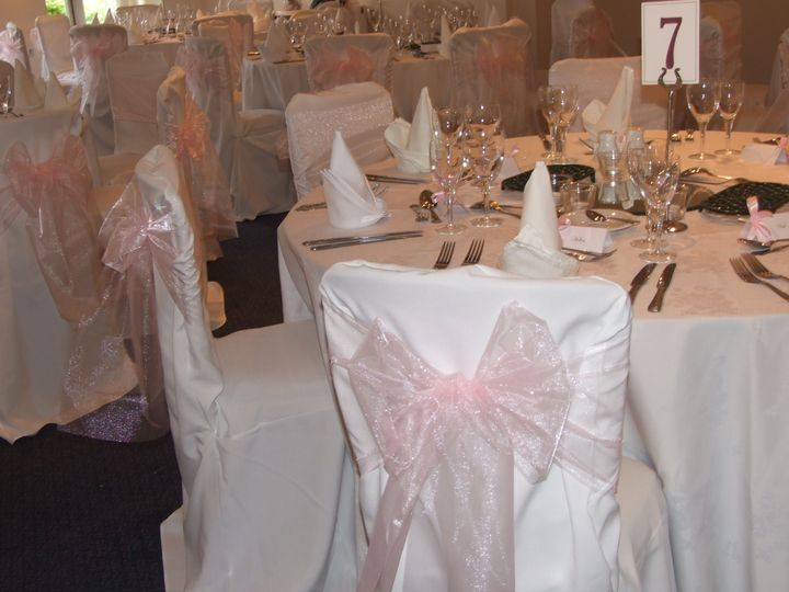 Parkfield, Ross-on-Wye Wedding - Baby Pink