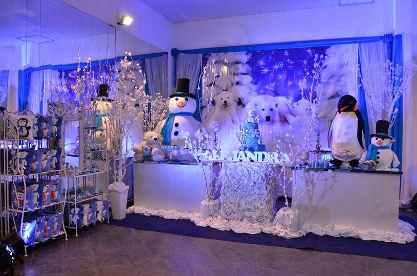 Snowman themed