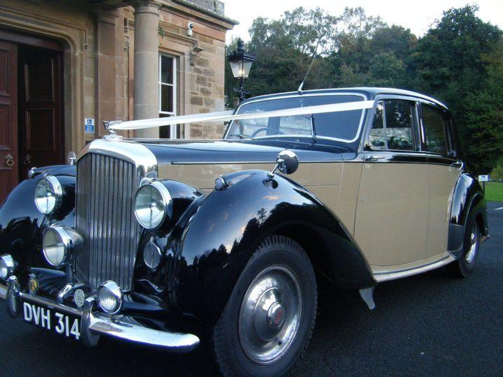 Bentley Mk VI-Newbattle Abbey