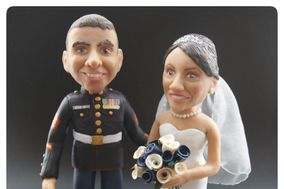 Clare Basham Designs - Cake toppers
