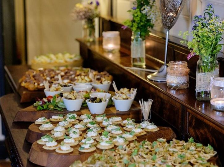 Post Ceremony Canapes