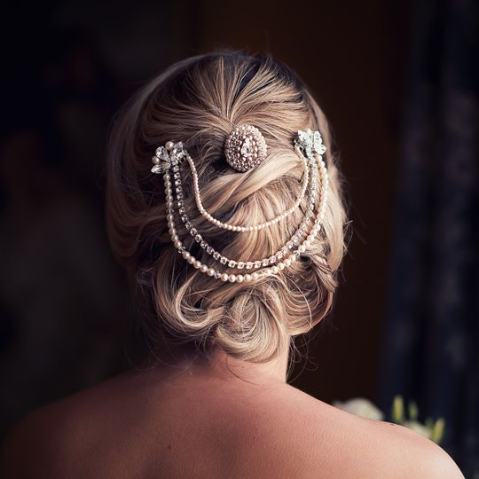 Cherish bridal hair vine