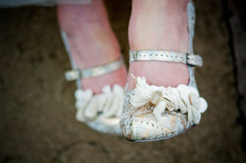 Bridal shoes by Celynnen Photography