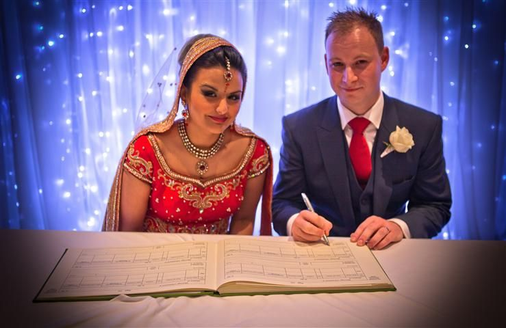 Sikh English Wedding