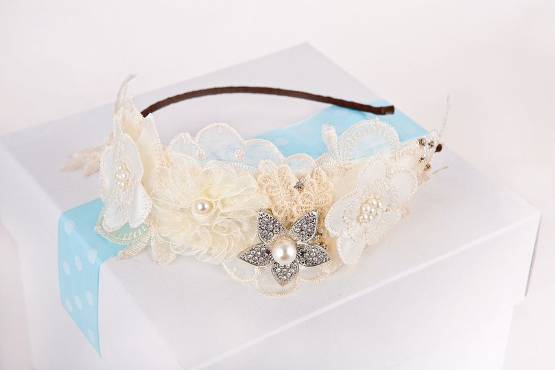 Fleuris bridal tiara