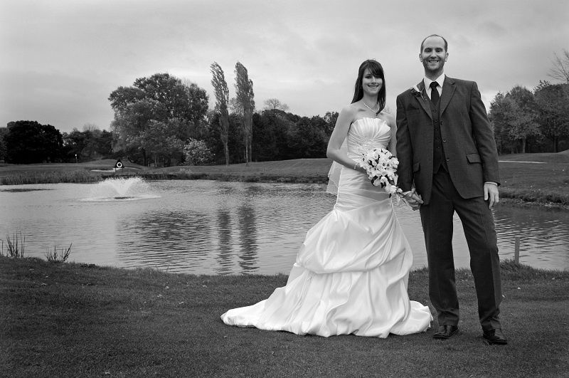 Katie and Andy, the Tytherington Club