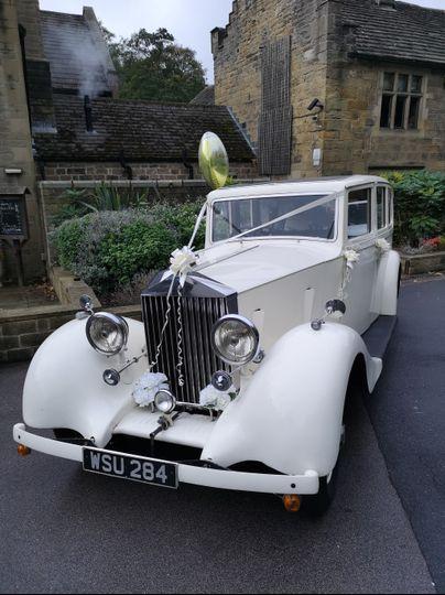 1935 Rolls Royce exterior