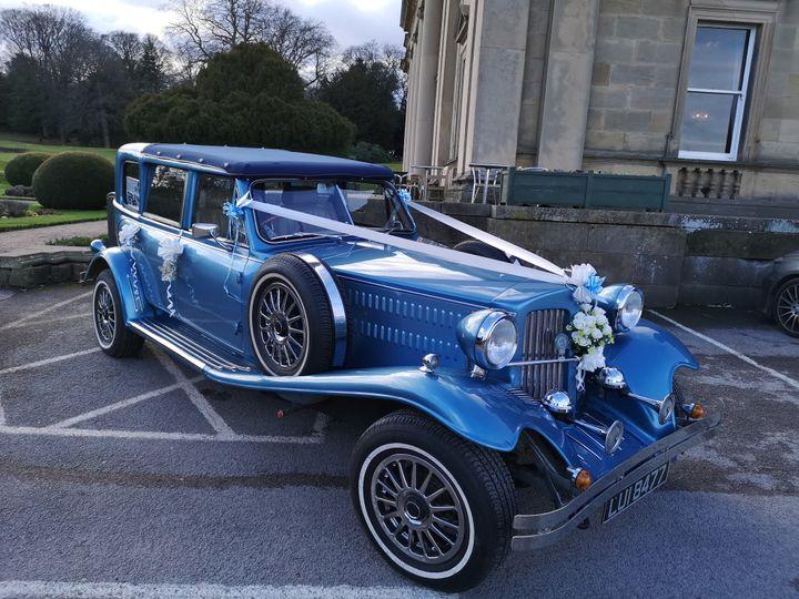 Open-top Tourer Blue Beauford