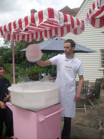 Candy Floss Cart hire
