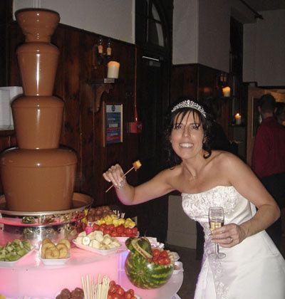 Milk Chocolate Fountain