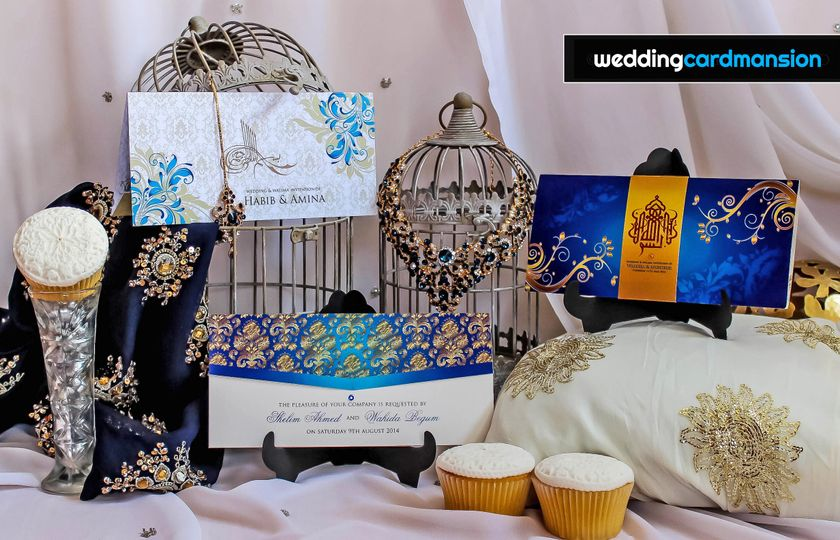Wedding card mansion
