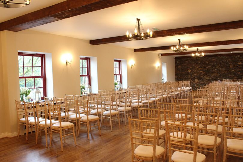 Indoor Ceremony in The Stables