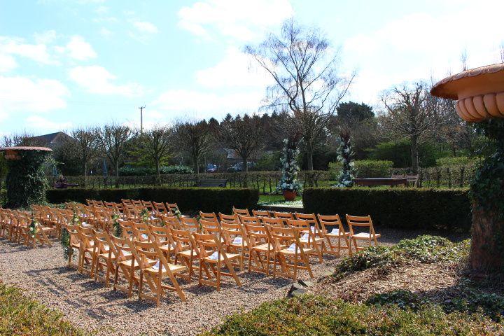 Sunken Garden Outdoor Ceremony