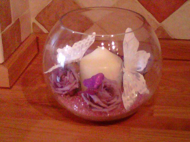 Lilac Table Decoration