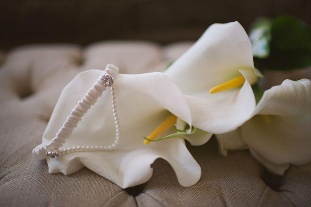 Bridal garter - Audrey