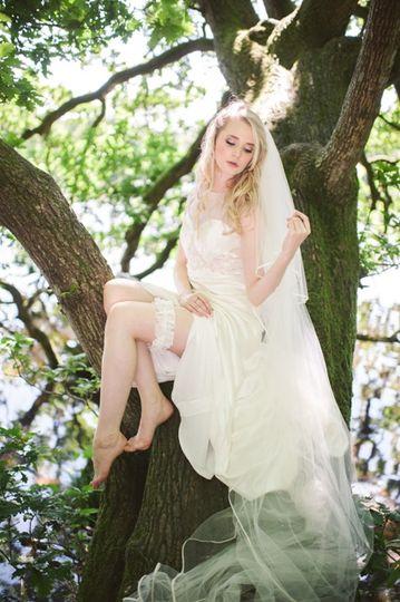 Bridal garter - Eleanor