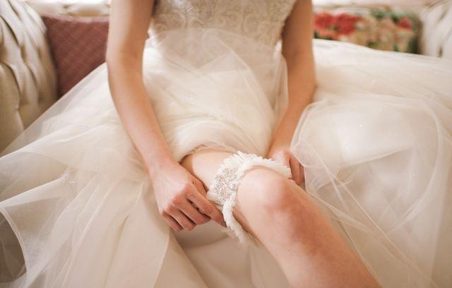 Bridal garter - Eve