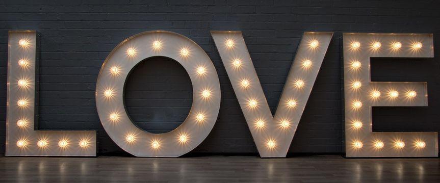 4ft LED letters