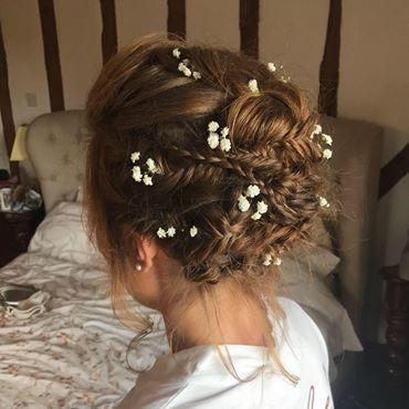 Gorgeous Bridal braids