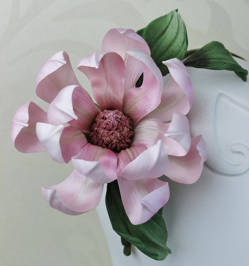 Silk Magnolia Headpice