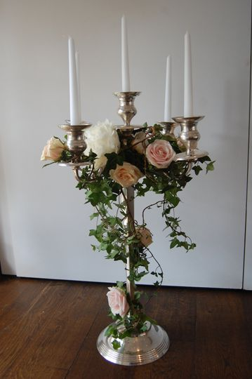 Rental candelabra romance