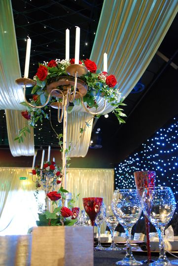 Fresh Flower Centrepieces