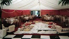 Marquee decoration