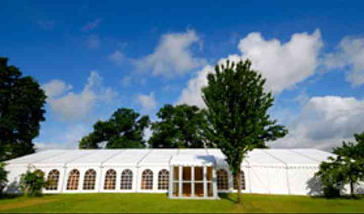 Outdoor event marquees