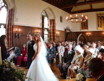 Elegant ceremony hall