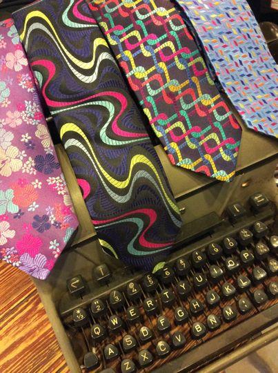 Silk Tie Selection