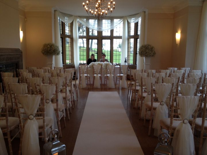 Window Dressing Coombe Lodge From Essential Wedding Event Hire