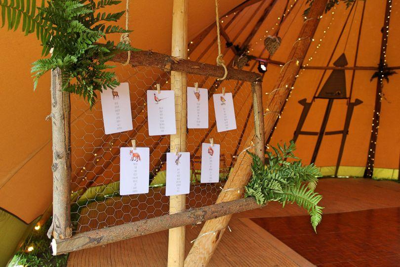 Wedding table plan leicester