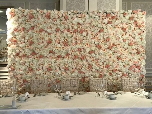 Elizabeth Flower Wall