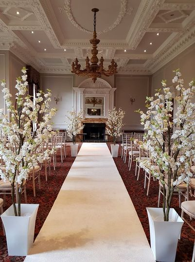 Potteed Blossoms, Aisle Carpet
