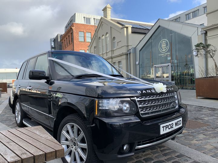 Our Range Rover at Titanic