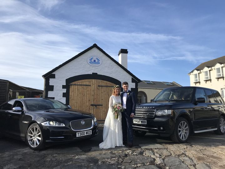 Our Range Rover and XJ jaguar