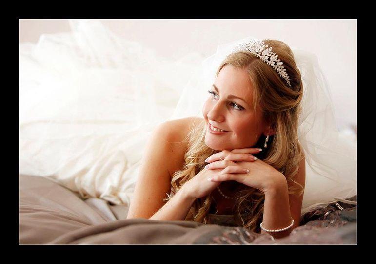 Hair with tiara