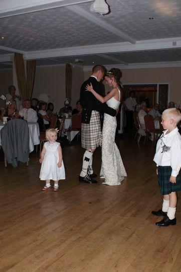 First dance & cute kids