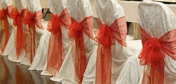 Event decoration hire event decoration hire chair covers sashes junglespirit Images