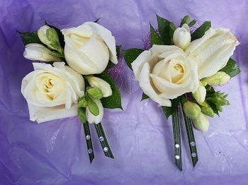 LR Wedding - Double buttonhole