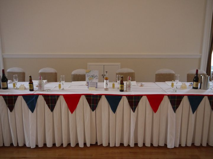 Wedding Party Top Table
